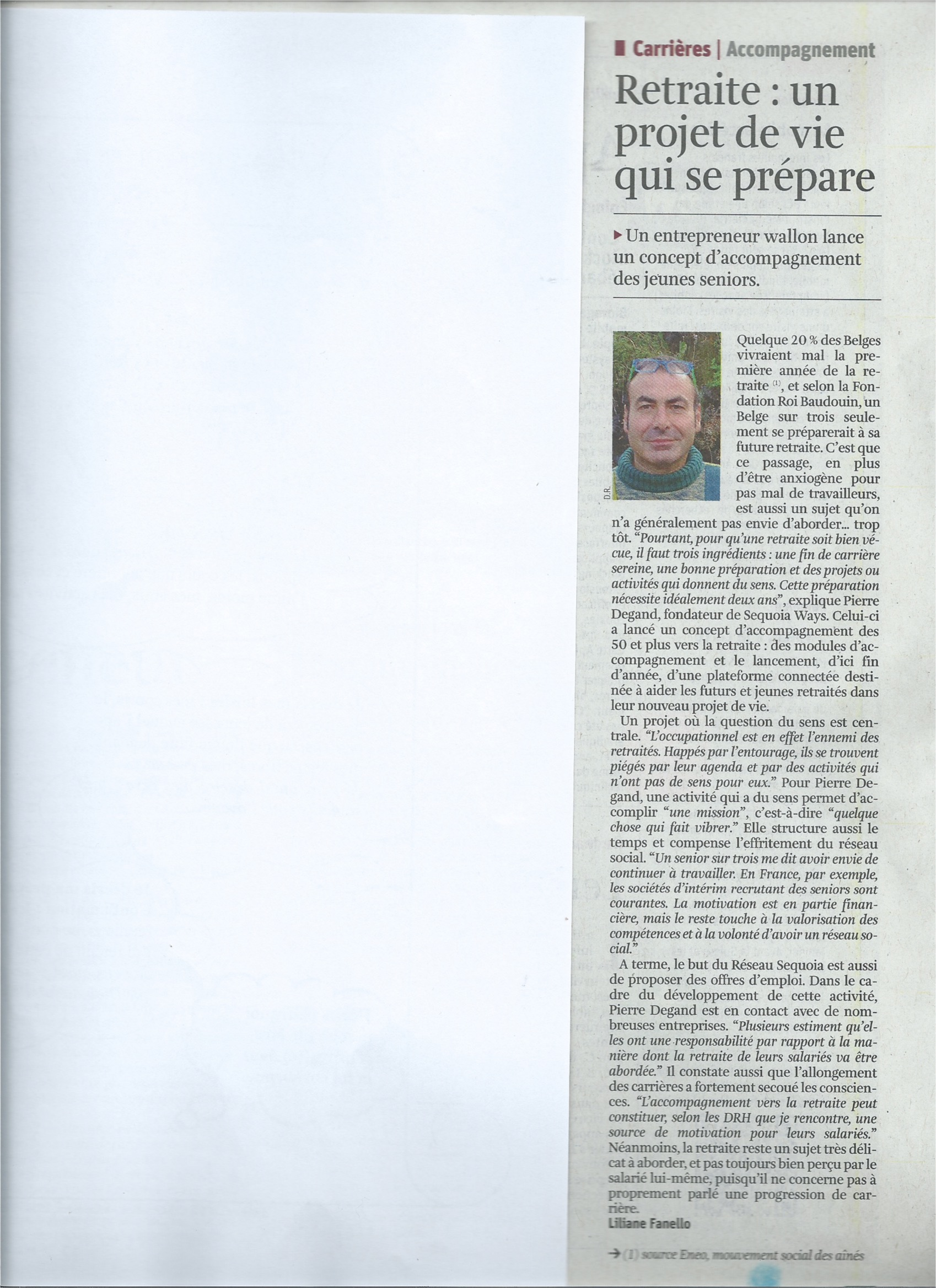Sequoia Ways La Libre Entreprise 17 octobre 2015